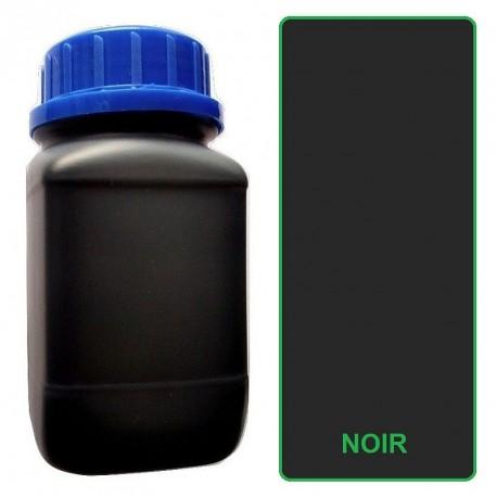 Teinture cuir noire