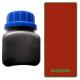 Teinture de tranche marron