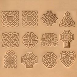 Matoir cuir 3D celtique