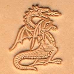 Matoir 3D maroquinerie dragon