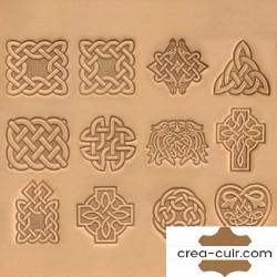 Matoir celtique pour marquer le cuir