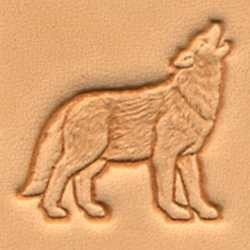 Matoir 3D maroquinerie loup