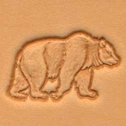 Matoir 3D cuir ours