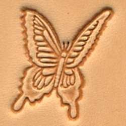 Matoir 3D cuir papillon
