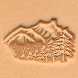 Matoir 3D cuir paysage nature