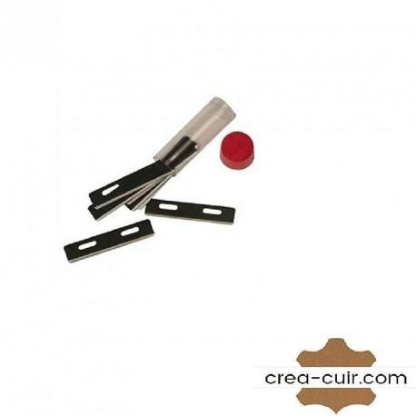 Lame couteau à parer et coupe lacet cuir