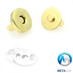 Fermoir magnétique 14 mm laiton