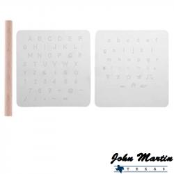 Kit marquage lettres pour cuir