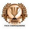 Pack 5 maroquinerie
